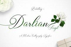 Web Font Darlian Script Product Image 1