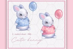 Cute bunny 2 color Product Image 2