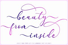 Faradilla - Beautiful Script Product Image 2