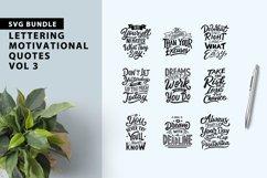 Lettering Motivational Quotes SVG Bundle Vol 3 Product Image 1