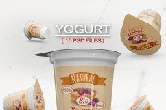 Yogurt Mockup Product Image 2