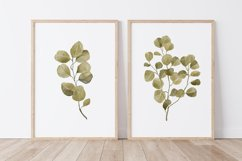 Watercolor Leaves Wall Art, Leaf Wall Print, Plant Wall Art Product Image 1
