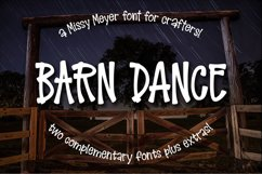 Barn Dance - a homey little font! Product Image 7