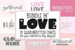 Font Bundle of Love - Valentine's Day Fonts Product Image 1