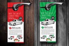 Rent A Car Door Hangers Product Image 2