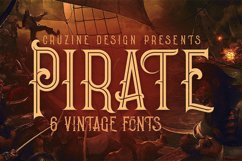 Pirate- Vintage Style Font Product Image 1