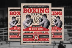 Boxing Match Flyer Product Image 1