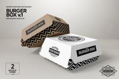 Burger Box Packaging Mock Up v1 Product Image 5