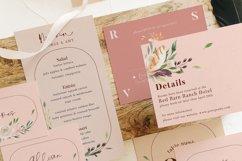 Nude & Terracotta Foliage Wedding Suite Product Image 5
