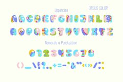 Circus, display uppercase typeface Product Image 4