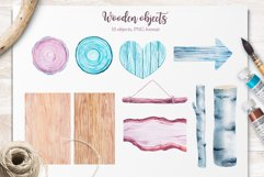 Winter. Watercolor collection. Product Image 18
