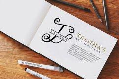 Lovlia | Script and Monogram Font Duo Product Image 5