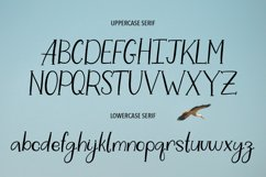 WHITE STORK. A HANDWRITTEN DUO FONT. Product Image 3