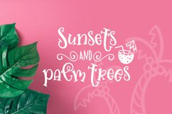 Jellysea - Font Duo  Summer Doodles Product Image 4