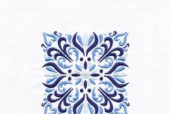 Decorative Quilt Block No1 Embroidery Design Product Image 5