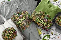 INDIA Cartoon Doodle Illustration Product Image 2