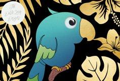 Tropical Parrots & Birds Clipart Set Product Image 2