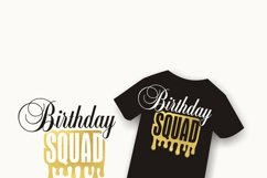 Birthday queen svg   Birthday Squad svg   Women's birthday Product Image 6