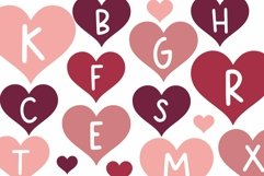 Web Font Date - A Fun Valentine's Day Font Product Image 5