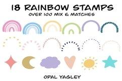 Rainbow Procreate Stamps / Doodle Procreate Brushes Product Image 2