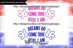 Cutting file Dreams, dreams svg, wish svg, baby svg Product Image 3