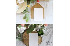 Card Mockup, Wedding Invitation Mockup, Stationary Mockup Product Image 2