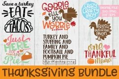Thanksgiving Bundle SVG DXF EPS PNG Cut Files Product Image 1