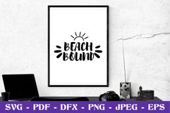 Beach bound SVG cut file Product Image 1