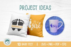 Baby Feet Bundle - A Baby Feet SVG Product Image 4
