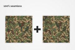 British Flecktarn Camouflage Seamless Patterns Product Image 4