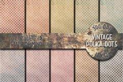 Vintage Polka Dots Digital Papers Product Image 1