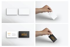 6 Style Business Card Mockups Product Image 5
