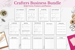 Crafters Business Bundle, Order Forms and Trackers Product Image 1