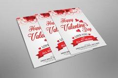 Happy Valentines Flyer Product Image 2