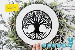 Tree of Life Svg, Tree cut file Svg Png Pdf Eps, Tree dxf Product Image 4