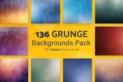136 Grunge Backgrounds Product Image 1