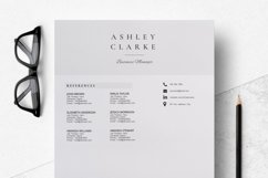 Resume Template   CV Cover Letter - Ashley Clarke Product Image 5