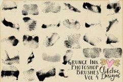 Photoshop Brushes - Grunge Ink Texture Brushes Vol 4 Product Image 2