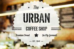 Urban Stencil Display Font Product Image 1
