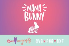 Mama Bunny / Woodland, Easter, Spring, Maternity, Baby, Cute Product Image 1