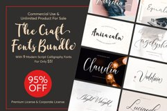 The Craft Fonts Bundles! Product Image 1