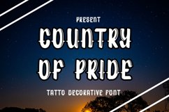 Country of pride Product Image 1