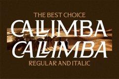 CALLIMBA - Luxury Serif Font Product Image 2