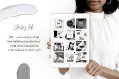 Canva Instagram Templates Black&White Product Image 3