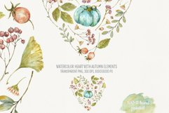 Heart of Autumn. Watercolor compositions Product Image 2