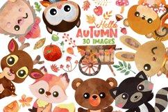 Autumn Clipart, Autumn clipart, pumpkin clipart Product Image 1