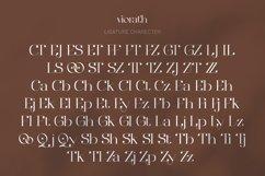 Viorath Moern Serif Font Product Image 4