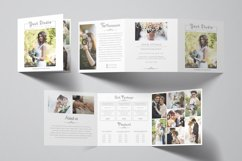 Photography Square Trifold Brochure Product Image 1