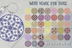Keychain Svg Bundle of 220 designs Geometric patterns Product Image 4