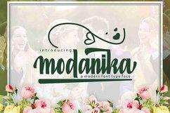 Web Font Modanika Product Image 1